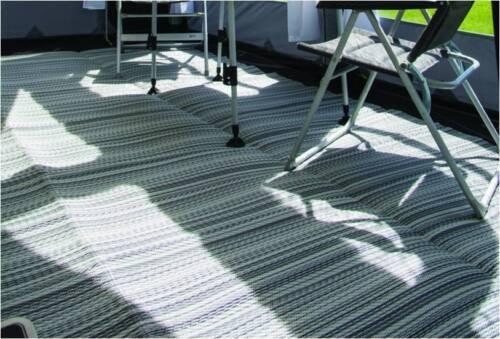 BROKEN BAG ZIP Kampa Continental 250 x 650cm Awning Exquisite Carpet groundsheet