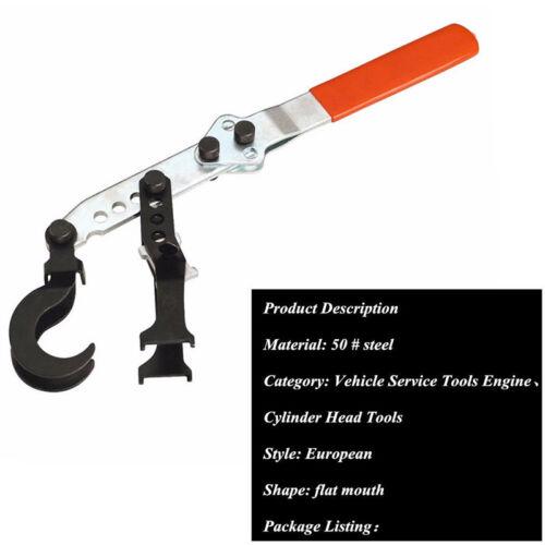 2 Hooks European Valve Spring Compressor Pusher Hand Tool Car Engine Cylinder