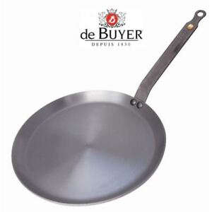 De Buyer Mineral B Element Induction Crepe Browning Grilling Pan ...