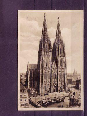 europa:11415 LiebenswüRdig Gelaufene Ansichtskarte Köln Dom Westseite Rohstoffe Sind Ohne EinschräNkung VerfüGbar