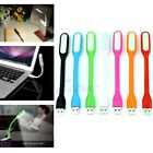Flexible USB LED Light Lamp For Notebook Desktop Keyboard Reading Laptop PC Mini