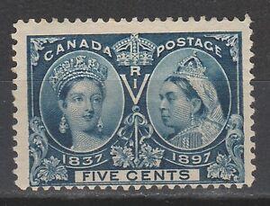 CANADA 1897 QV JUBILEE 5C