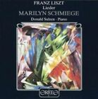 Franz Liszt Liszt Lieder CD 1998