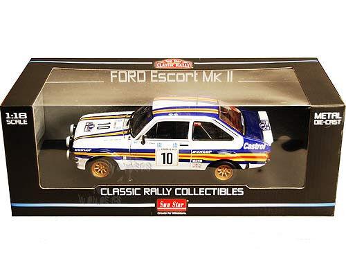 SUNEstrella 4444 - 1 18 Ford Escort MKII NO.10 A. Señor Vatanen nos D. Richards 1ST 1980