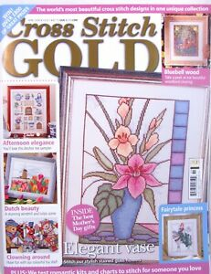 Cross-Stitch-Gold-UK-Magazine-Issue-5-April-2008-Patterns-Princess-Tulips-Toys