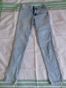 New-Look-Girls-Skinny-Denim-Jeans-Size-12-Years