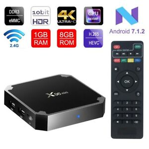 1d93a98b7b2 X96 Mini 4K Android 7.1.2 Nougat WiFi Smart TV Box with KODI 17.6 1G ...