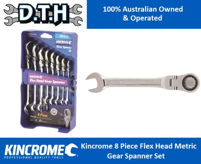 AUSTRALIA Brand Kincrome Metric Single Way Combination Gear Spanner