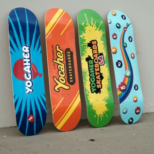 """Yocaher Complete Skateboard 7.75/"""" Pop CANDY Series"""