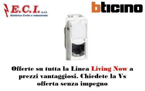 Bticino Living Now KW4279C6 Connettori RJ45 categoria 6 UTP