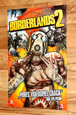 Borderlands 2 Hitman Absolution Rare Poster Ps3 Ps4 Xbox 360 One