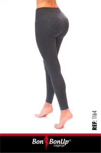Leggings Bon con donna interne sollevatore body tasche body Up da con per shaper wrFxwdqC