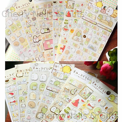 Cute Paper Cat Travel Stickers Kawaii Pet Japanese Stationery Cats Lovers Gift