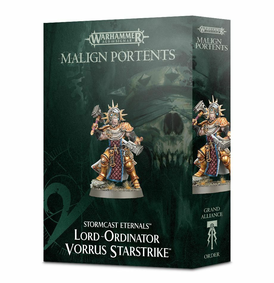 Vorrus Star Strike the Lord ORDINATOR Warhammer âge de Sigmar Games Workshop AM