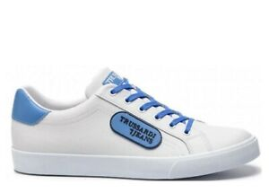 Trussardi-Jeans-77A00146-Bianco-Sneakers-Uomo-Scarpa-Sportiva-Casual