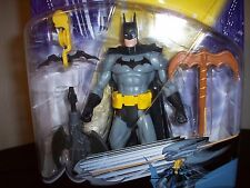 LAST ONE! ~ BATMAN The Dark Knight: Zipline Black Gray Costume 2003 NIB