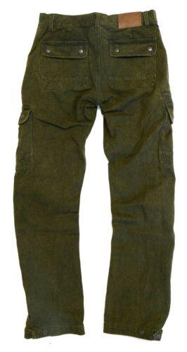 Pantaloni Cargo con Strides gamba sottile e molti tasche Outdoor tempo libero