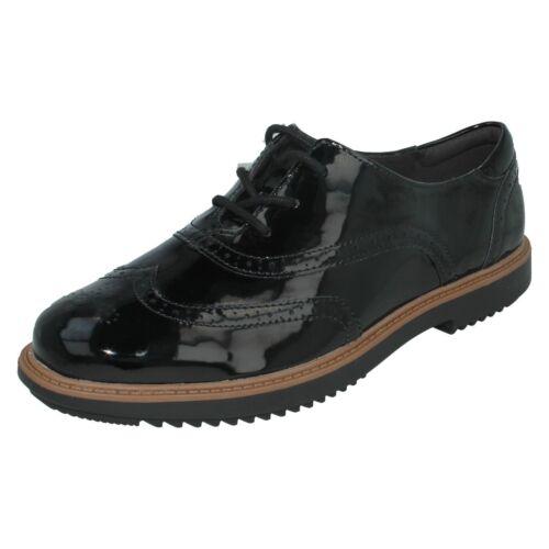 Raisie Oxford Zapatos Mujer Clarks Cordones Con Hilde pwvf6q8x