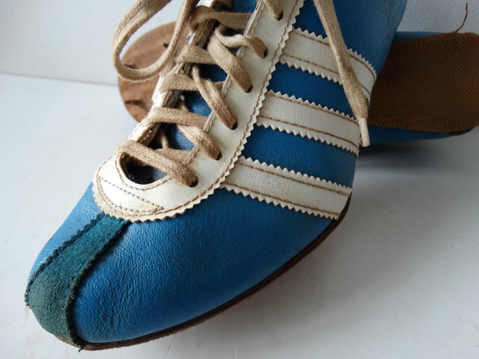 Vintage Adidas SPRINT Spikes Laufschuhe Gr 38(6) Sprinter Trainers very rare