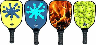 (4) Four Pickleball Paddles T200 shape Your Designs  Picklepaddle