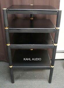 "Lovan audio/video rack. 4-tier w/19""x17"" usable space per shelf. $150 only!"