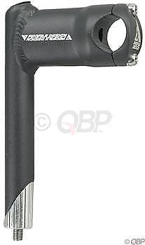 "Black //-0 degree 26.0mm Bar Clamp Profile Design H20 Road 1/"" Quill Stem 80mm"