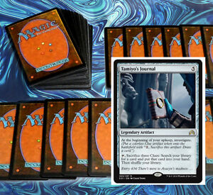 mtg-BLUE-WHITE-CLUES-DECK-Magic-the-Gathering-rare-60-cards-SOI-tamiyo-039-s-journal
