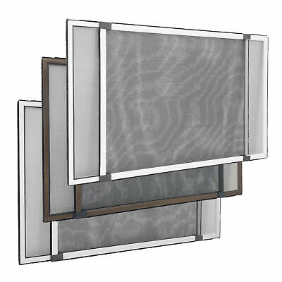 Individuellement d/écoupable Lot de 1 Montage tr/ès facile 130 x 150 cm JAROLIFT Moustiquaire pour fen/être de toit Toile noire