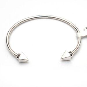 Sterling Silver Thin Wire Cuff Bracelet