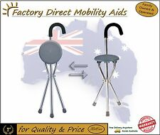 Walking Stick with Seat' Tripod/ Seat / Cane. Great Value
