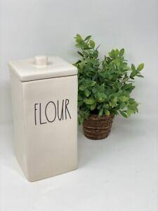 RAE DUNN FLOUR CANISTER Farmhouse LL Artisan Collection Jar Magenta NEW