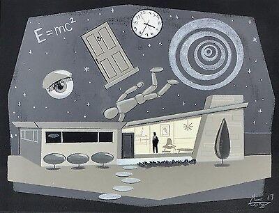 EL GATO GOMEZ MID CENTURY MODERN RANCH HOUSE VINTAGE CLASSIC TV TWILIGHT ZONE