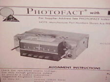 1970 FORD MUSTANG MACH I BOSS 302 429 COUGAR CONVERTIBLE AM RADIO SERVICE MANUAL