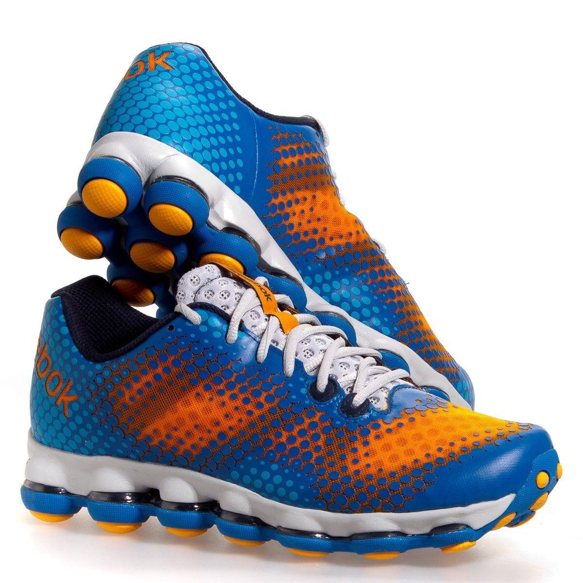 REEBOK DMX Sky Running Schuhes Sneakers Lugs V51968 Uomo Orange Blau New  Uomo V51968 8.5-13 7f5e82