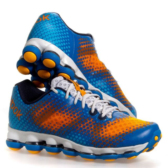 REEBOK DMX Sky Running Shoes Sneakers Lugs V51968 Orange Blue New Mens 8.5-13
