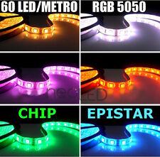 Striscia LED Strip RGB bobina 5m smd 5050 300 LED Chip EPISTAR Alta Luminosità!