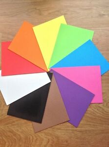 A4-Funky-Foam-Sheets-9-x-12-choice-of-10-colours-Craft-uses-NEW