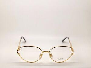 Vintage-Hilton-Parklane-104-Oval-Eyeglasses-Eyewear-Lunettes-Optical-Frame-53mm