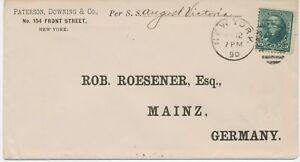 USA-1890-Daniel-Webster-10C-blaeulichgruen-EF-Schiffspost-Bf-S-S-Augusta-Victoria