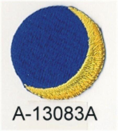 3.8cm x 3.8cm Celestial Wachsen Crescent Moon Patch