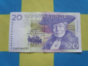 Schweden 20 Kronen Motiv Nils Holgerson - Heilbronn, Deutschland - Schweden 20 Kronen Motiv Nils Holgerson - Heilbronn, Deutschland