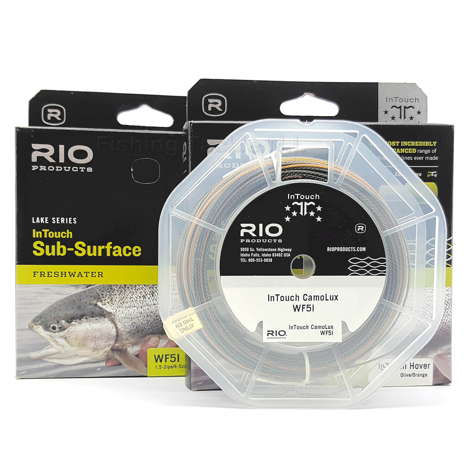 Series Rio Lake Intouch Subyta Hover Freshwater Fly Fishing Line