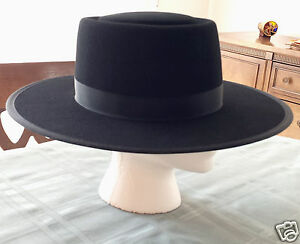 Men  039 s Authentic Amish Black Felt Hat made in Lancaster County 6a893d0caf3