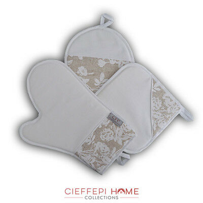 Capace Guanto + 2 Presine Art. Tokyo - Cieffepi Home Collections