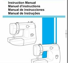 Brother LS 2125i Sewing Machine Instruction Manual Users Guide PDF on CD