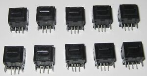 10 X Toslink Transmitter Module - 16 Mbps - TTL Compatible - NRZ Signal - 3 Pin