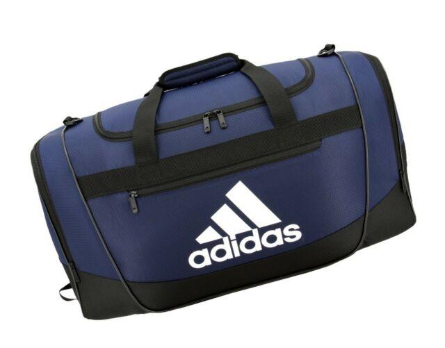 aaa21716bf08c9 adidas Defender III Duffel Bag Medium Collegiate Blue/black/white ...