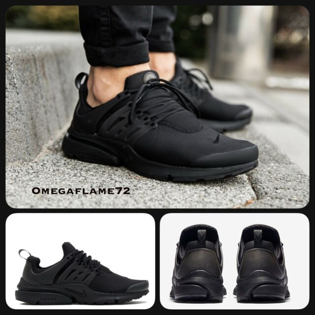 Nike Air Presto Essential, Sz UK 9, EU 44, US 10, 848187-011, Triple black