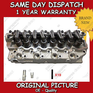 COMPLETE-CYLINDER-HEAD-FIT-FOR-A-HYUNDAI-GALLOPER-TERRACAN-H-1-2-5TD-98-gt-06-FLUSH