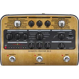 New-Zoom-AC3-Acoustic-Creator-Enhanced-Direct-Box-Dealer-Warranty-Make-Offer